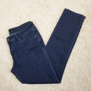 Prana Dark Wash Mid Rise Skinny Jeans Size 6S